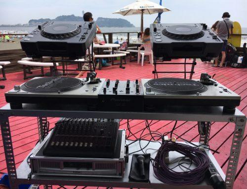 DJ機材&PA機材レンタル@鵠沼海岸