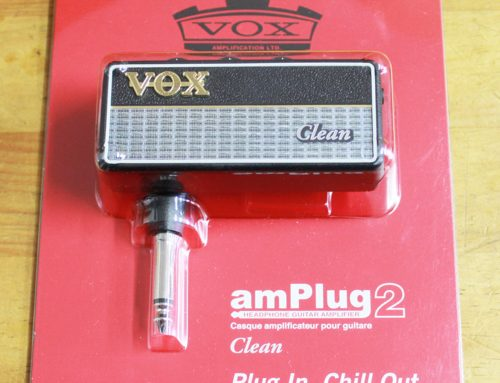 ギター用ヘッドフォンアンプレビュー!VOX amPlug2 Cleanご紹介!